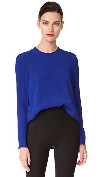 Antonio Berardi Long Sleeve Blouse - Blu Elettrico