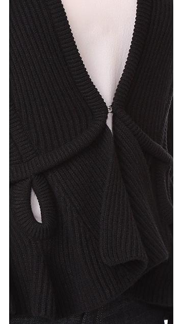 Antonio Berardi Long Sleeve Cardigan