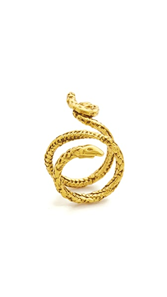 Aurelie Bidermann Snake Ring - Gold at Shopbop