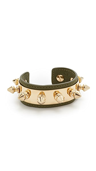 Aurelie Bidermann Camden Bracelet - Khaki at Shopbop