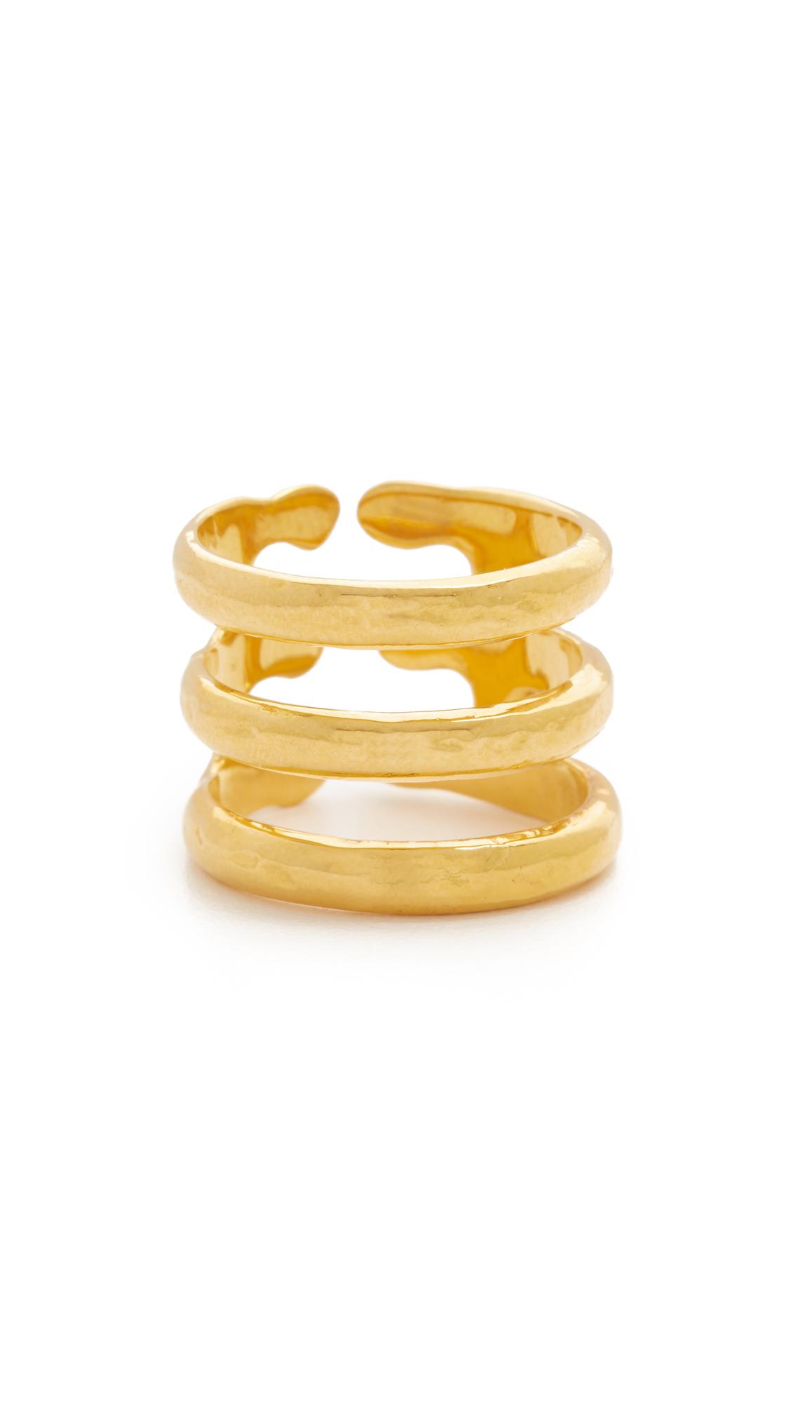 Aurelie Bidermann Esteban Ring - Gold at Shopbop
