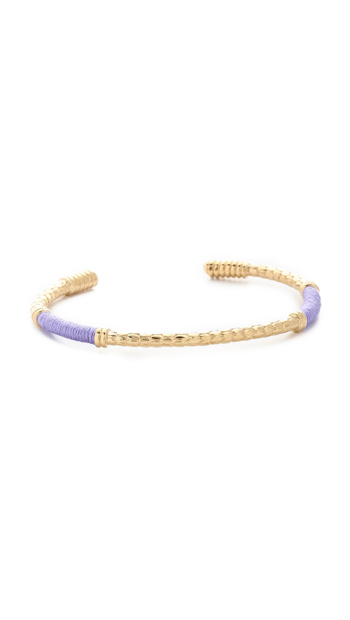 Aurelie Bidermann Soho Bracelet - Lila at Shopbop