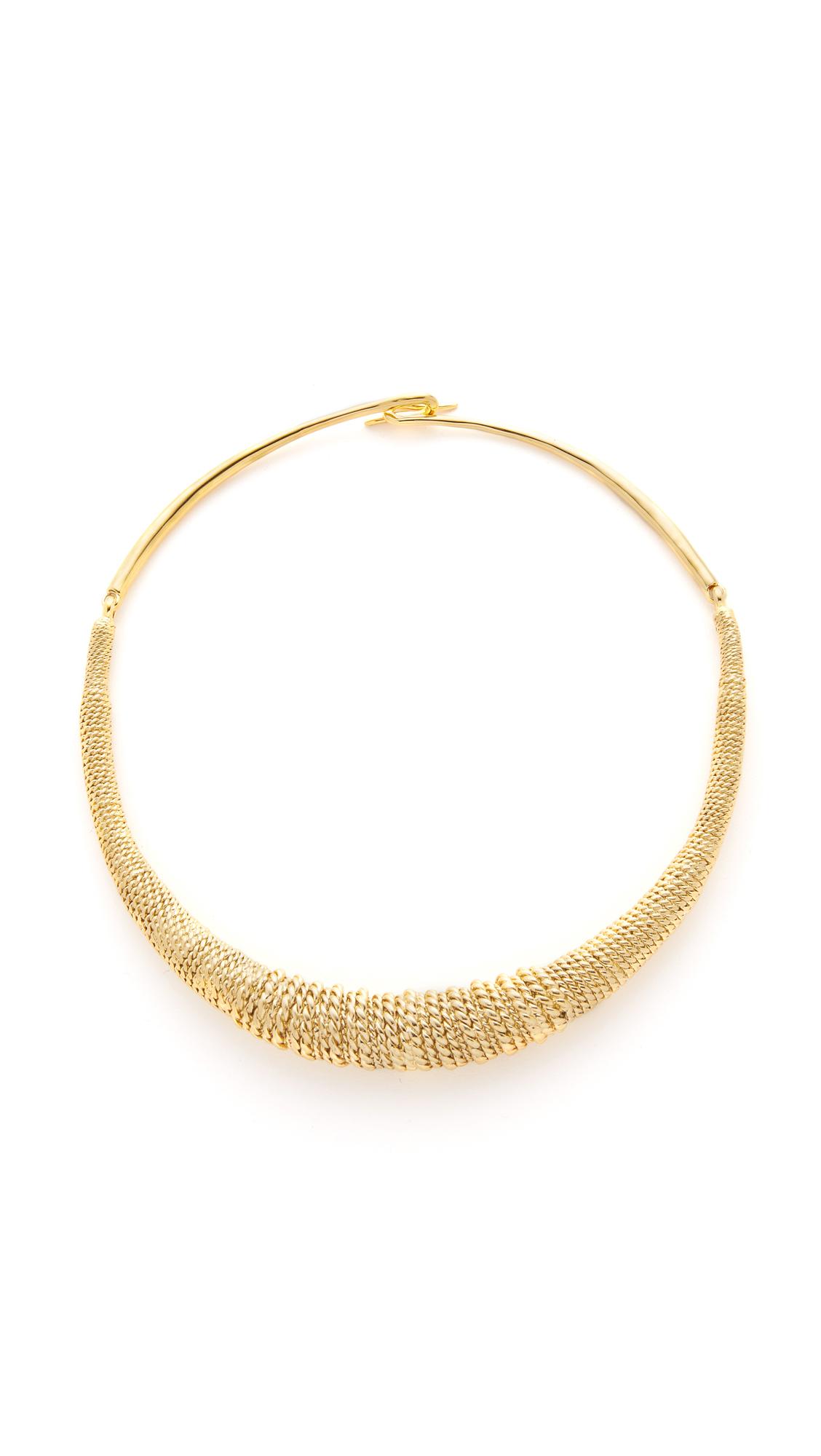 Aurelie Bidermann Marisa Necklace - Gold at Shopbop
