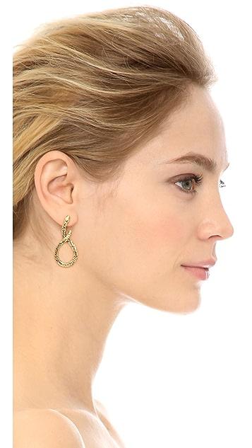Aurelie Bidermann Asclepios Earrings