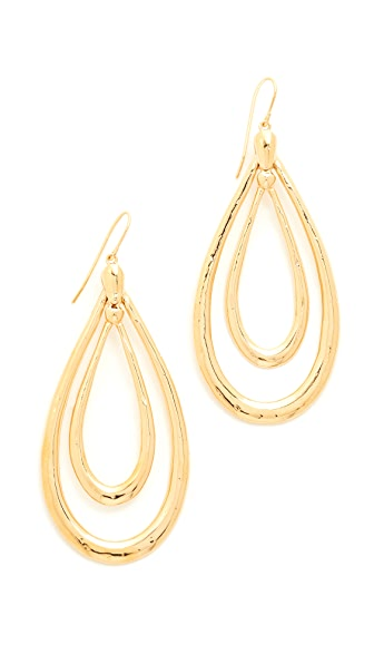 Aurelie Bidermann Alcazar Earrings - Yellow Gold