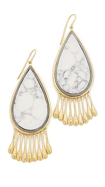 Aurelie Bidermann Marble Earrings