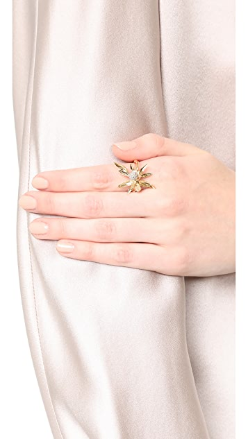 Aurelie Bidermann Mimosa Ring