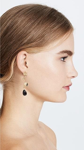 Aurelie Bidermann Vitis Pendant Earrings