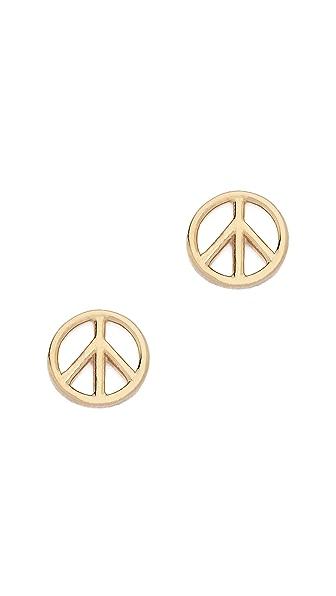 Aurelie Bidermann Fine Jewelry Peace Earring