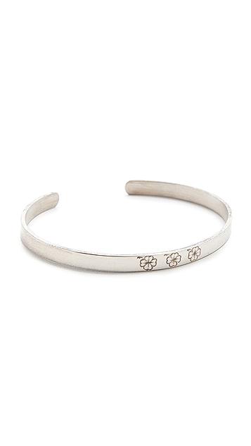 Aurelie Bidermann Fine Jewelry Silver Bangle