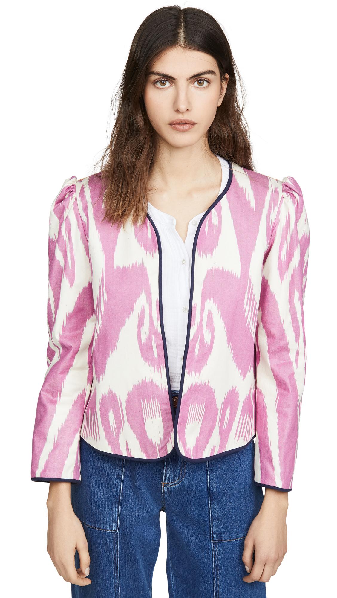 Buy Alix of Bohemia Sly Fox Silk Moiré Ikat Jacket online beautiful Alix of Bohemia Jackets, Coats, Coats