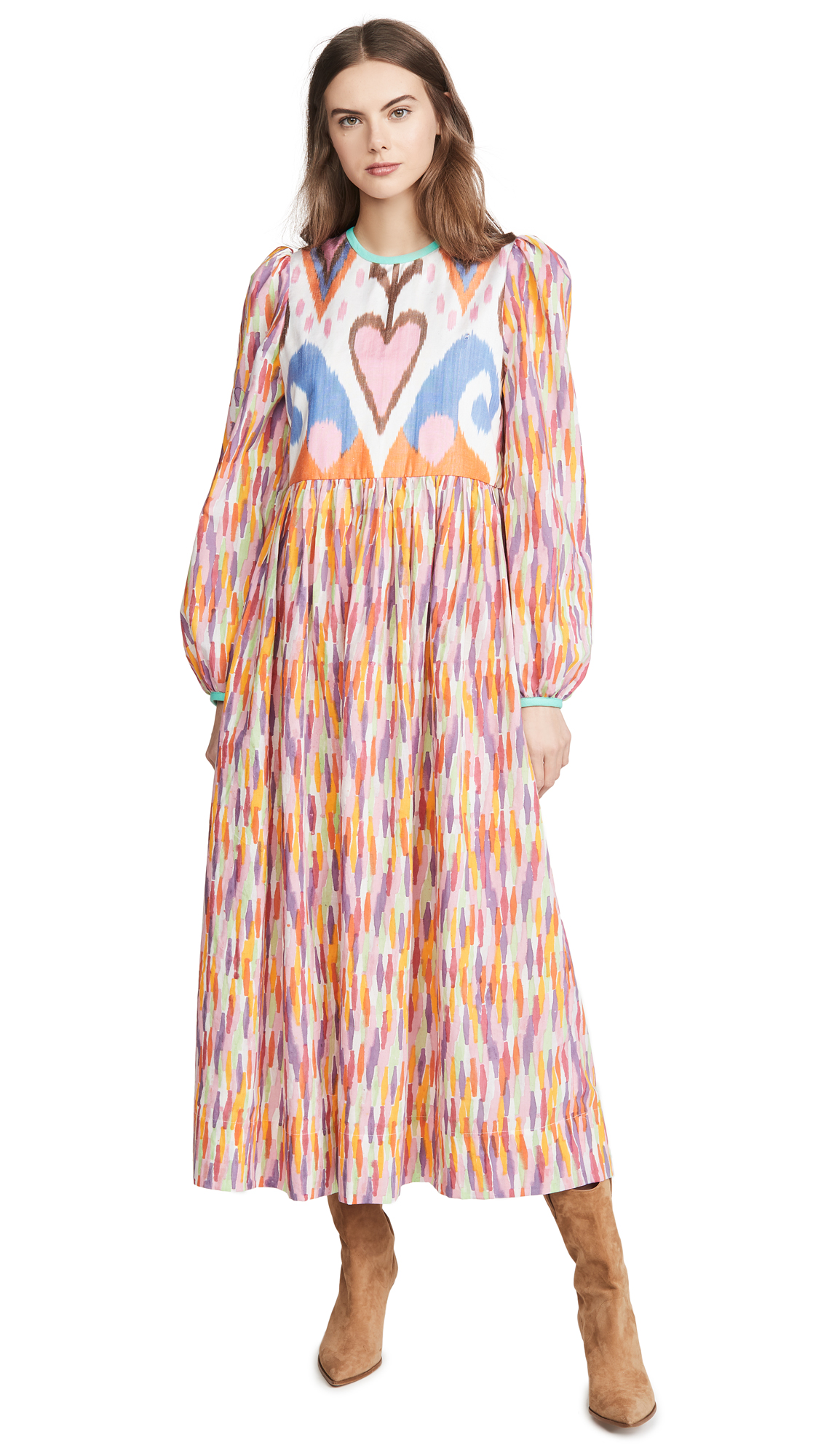 Alix of Bohemia Tallulah Rainbow Ikat Dress - 40% Off Sale