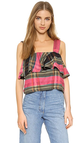 Ace&Jig Frances Top - Raven at Shopbop