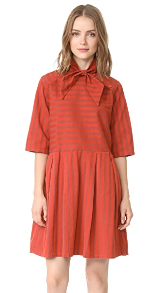 ace&jig Roxie Dress - Henna