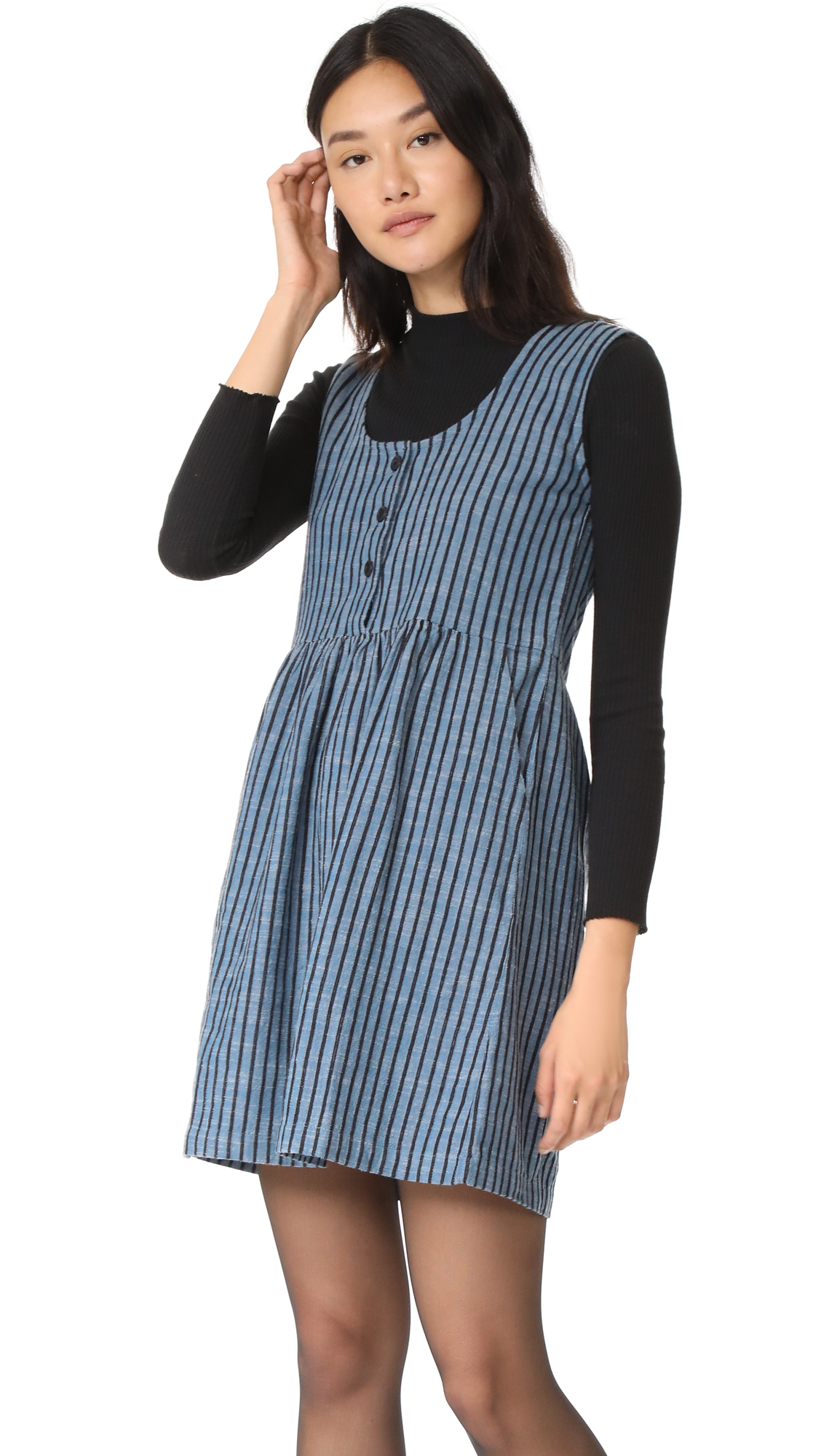 ace & jig Ruby Mini Dress - Promenade Stripe