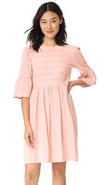 ace & jig Janis Mini Dress In Parfait