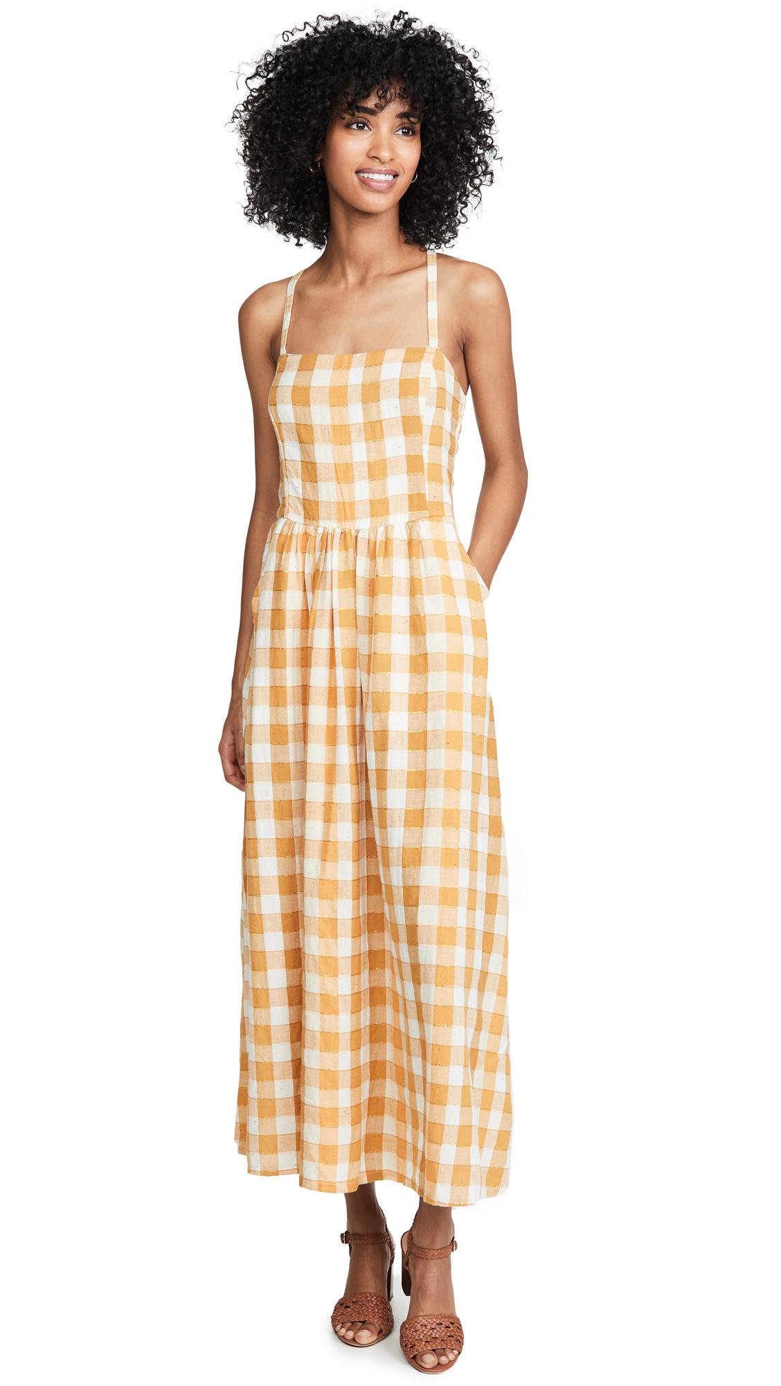 ace & jig Kennedy Dress - Fez
