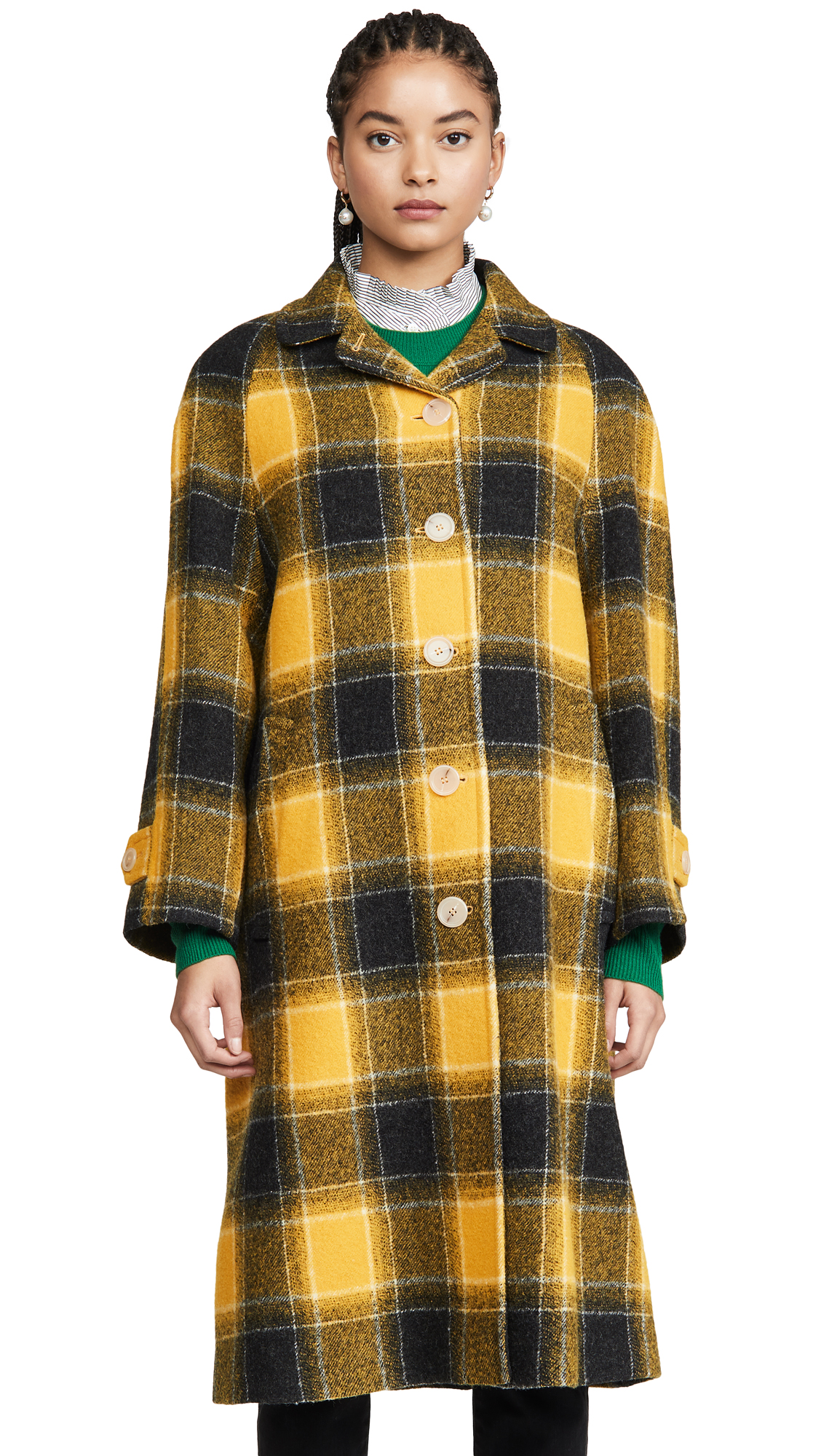 Buy ALEXACHUNG online - photo of ALEXACHUNG Raglan Sleeve Coat
