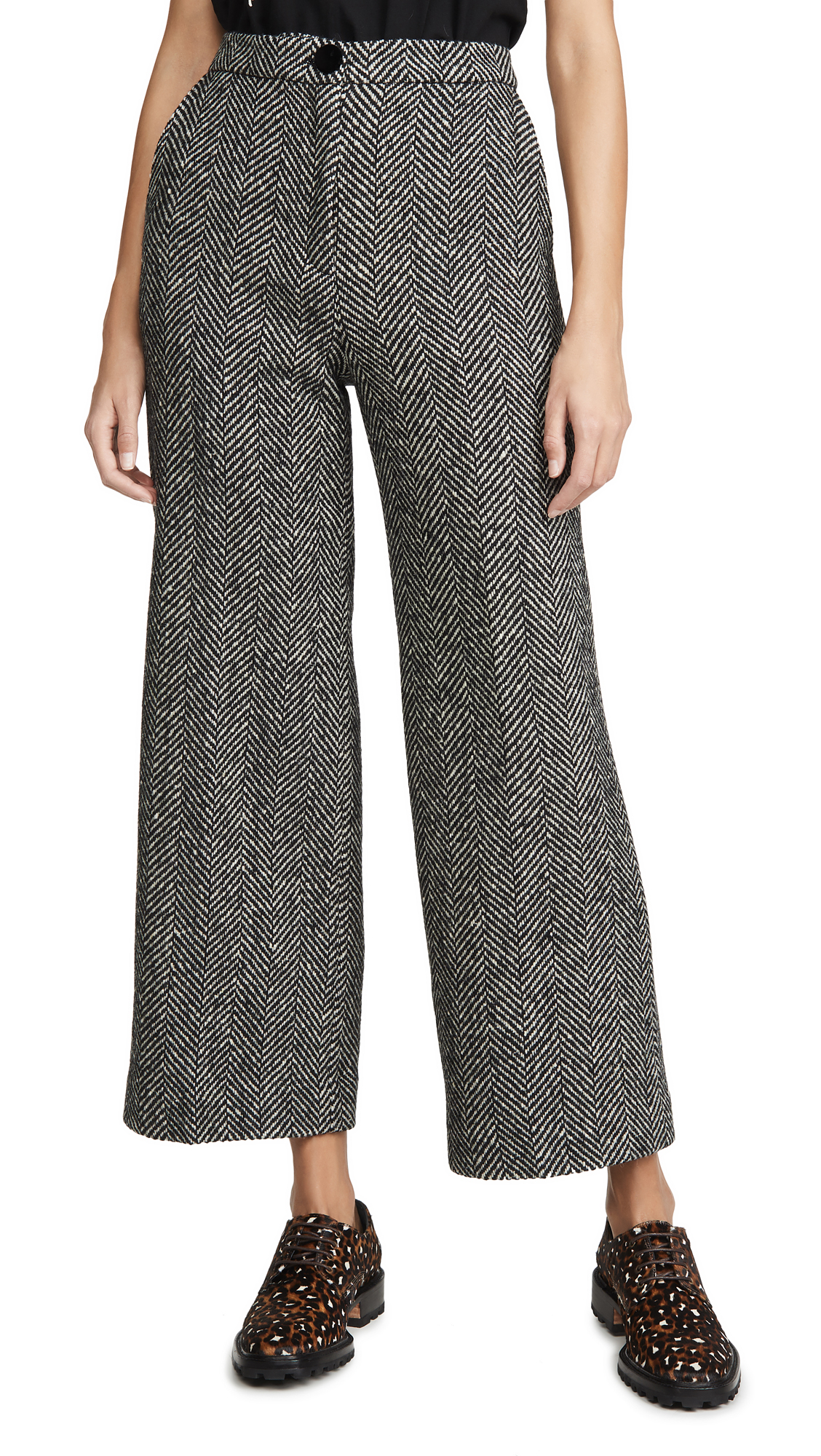 Buy ALEXACHUNG online - photo of ALEXACHUNG Wide Leg Trouser