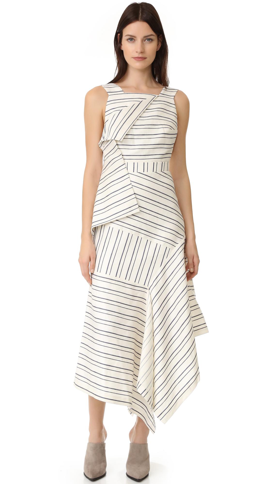 Acler Harlan Dress - Self Stripe at Shopbop