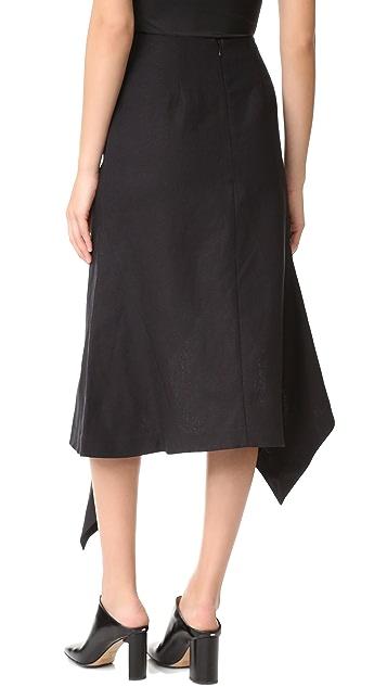 Acler Pelham Ruffle Skirt