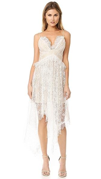 Acler Elane Lace Dress - Ivory
