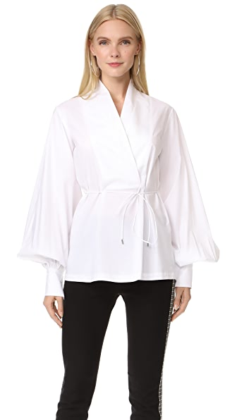 Acler Tivoli Shirt In White