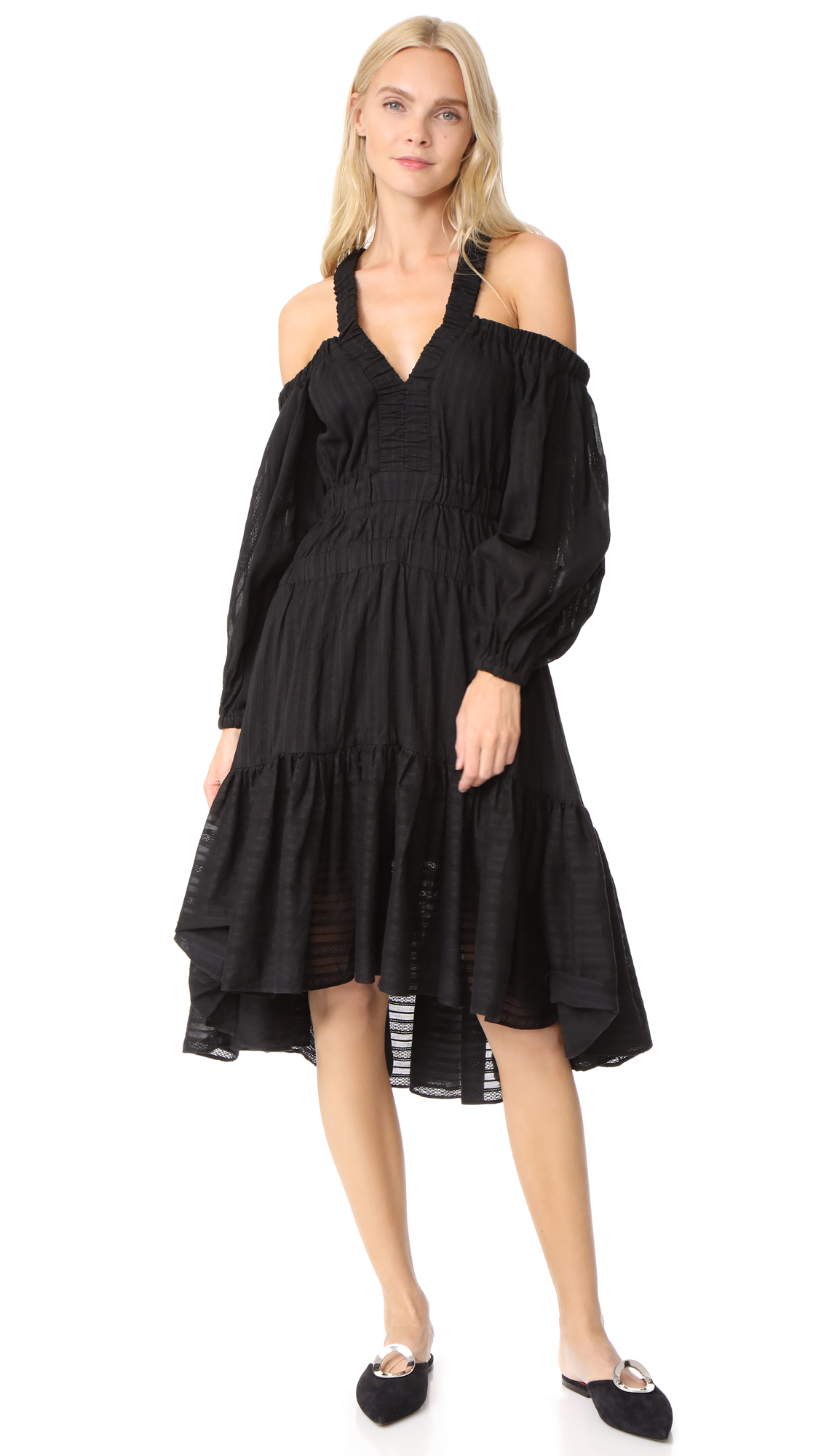 Acler Moresby Dress - Black