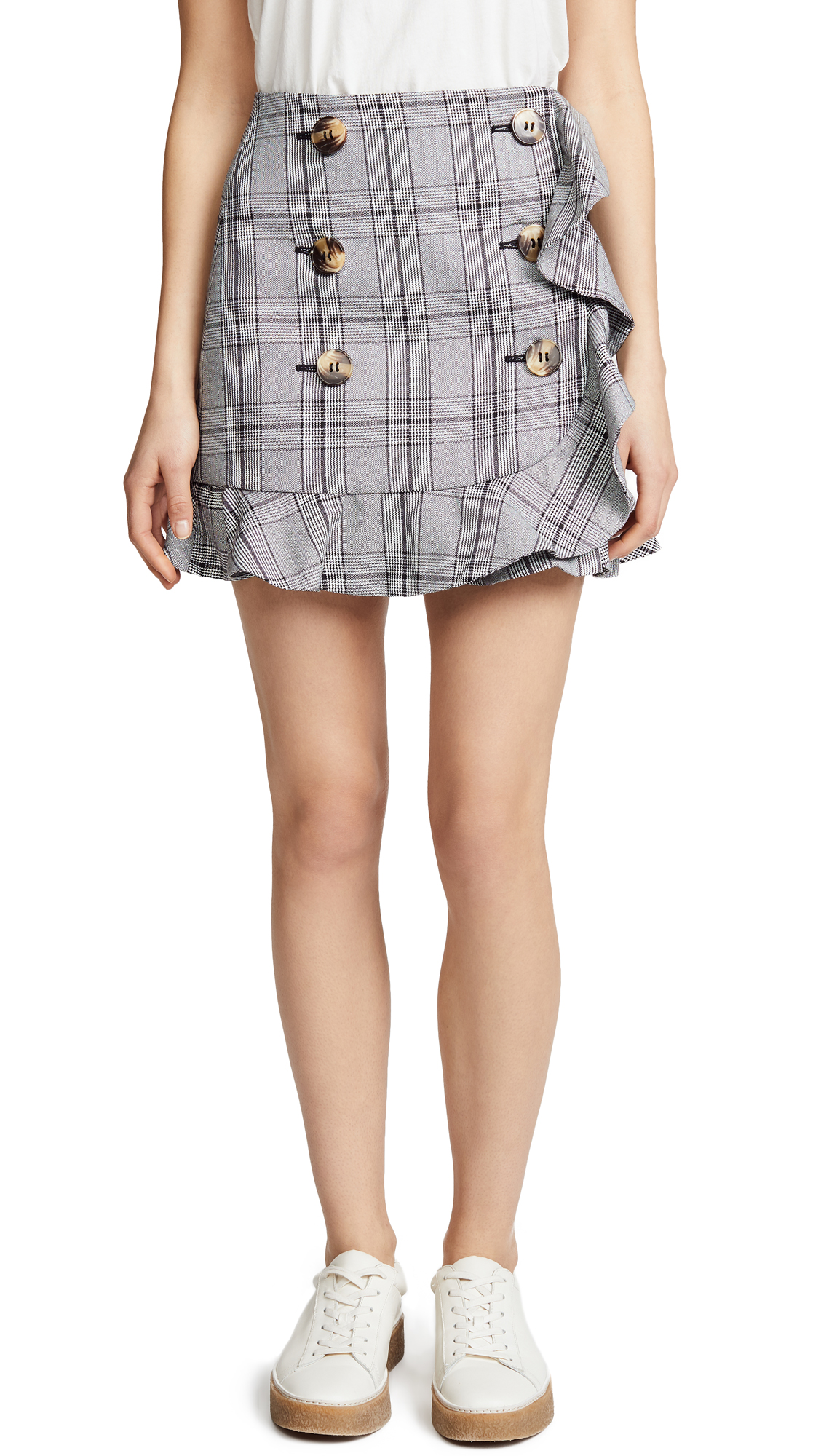 ACLER Penrith Skirt, Plaid