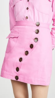 Acler Tana Denim Skirt