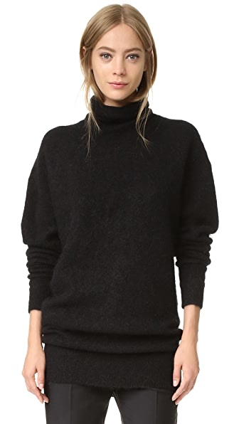 Acne Studios Daija Mohair Sweater - Black at Shopbop