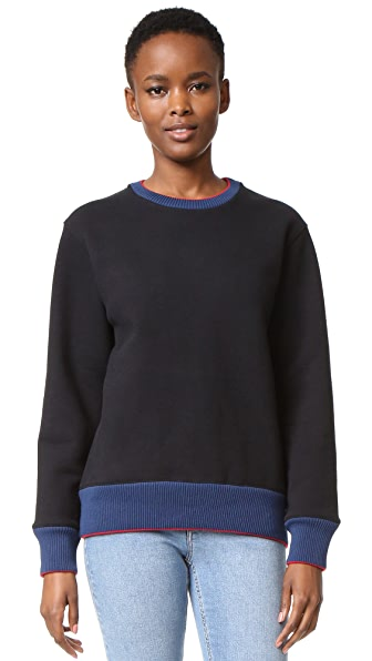 Acne Studios Carly Heavy Sweater - Black at Shopbop