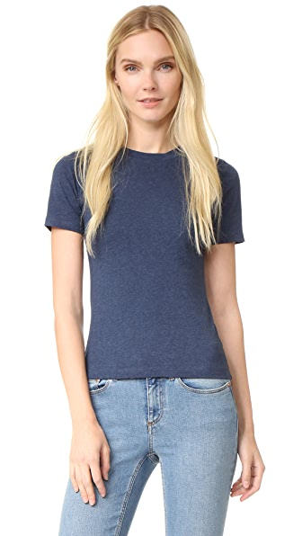 Acne Studios Dorla Tee - Blue Melange at Shopbop