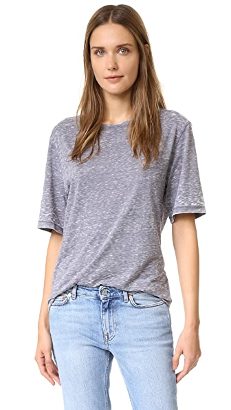 Acne Studios Immy D Tee - Grey Melange at Shopbop