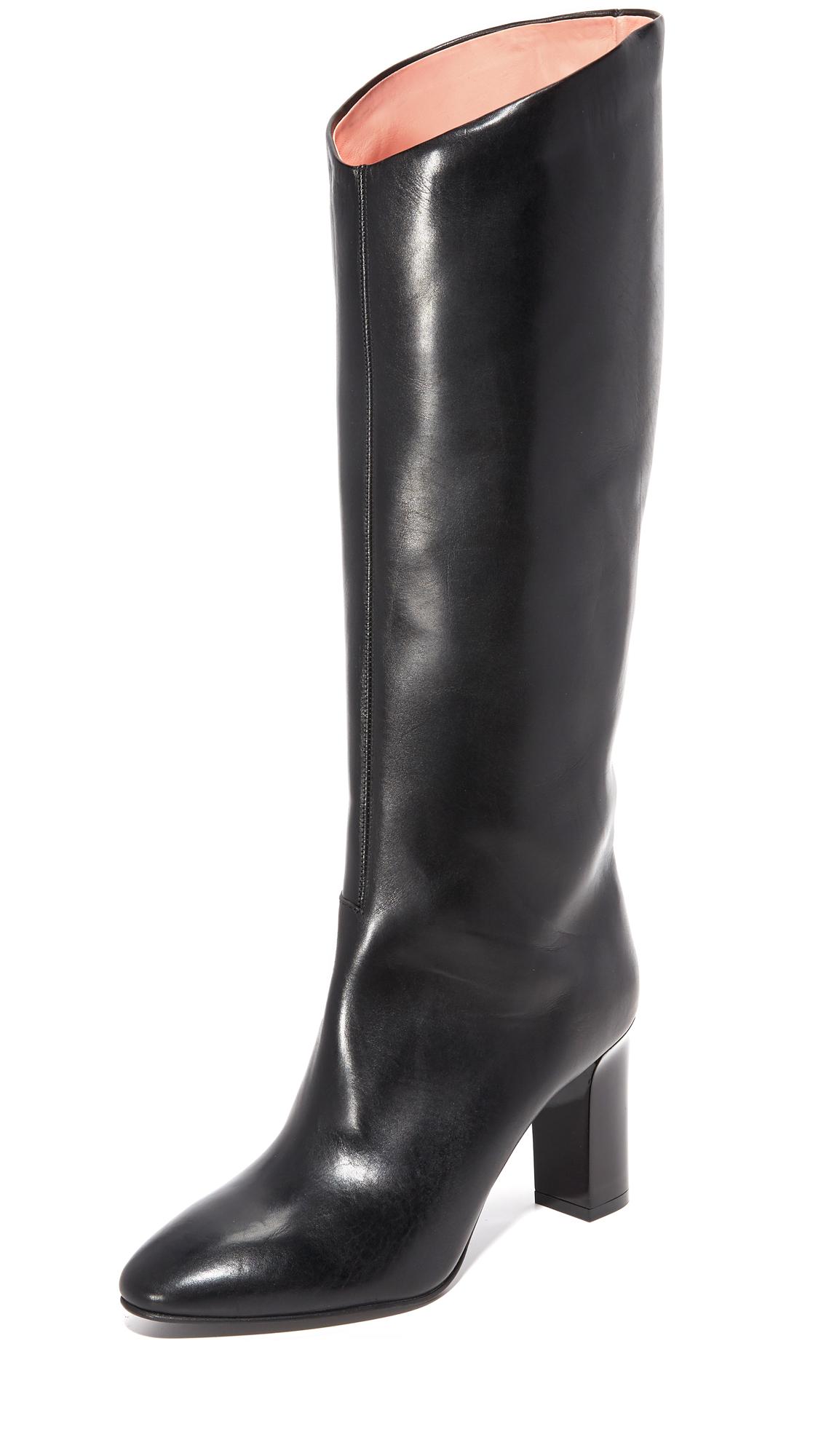 Acne Studios Aly V Boots - Black