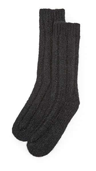 Acne Studios Annie Alpaca Socks - Black at Shopbop