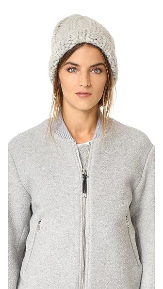 Acne Studios Jewel Alpaca Hat - Silver Grey at Shopbop
