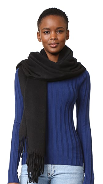 Acne Studios Canada Cashmere Scarf - Black at Shopbop