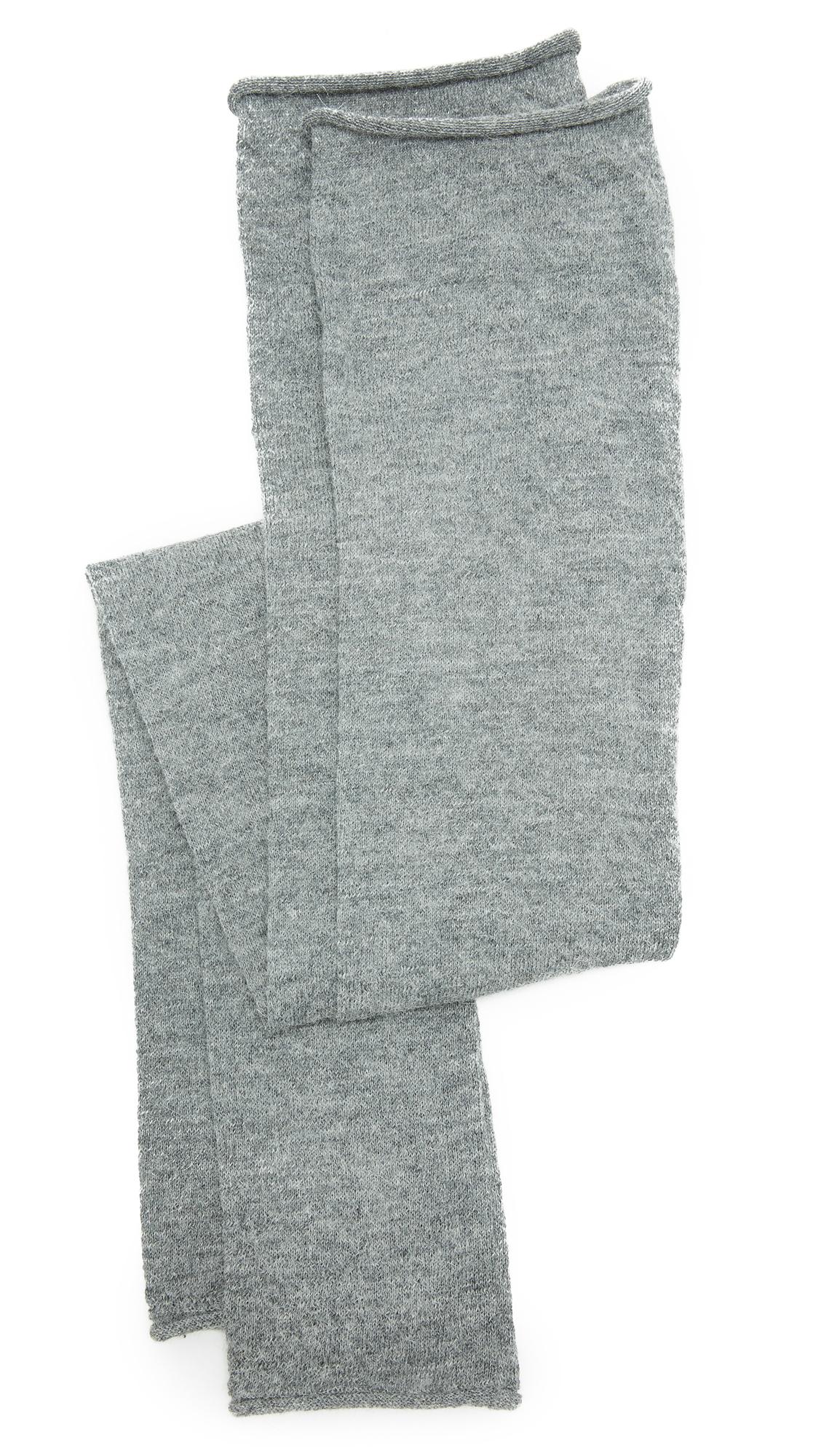 Acne Studios Large Jill Alpaca Leg Warmers - Grey Melange at Shopbop