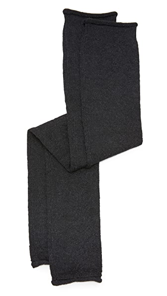 Acne Studios Small Jaya Alpaca Arm Warmers - Black