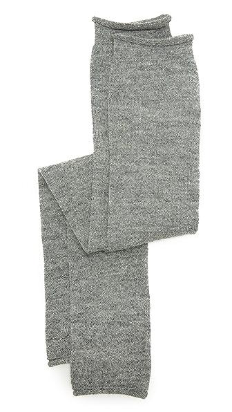 Acne Studios Small Jaya Alpaca Arm Warmers - Grey Melange at Shopbop