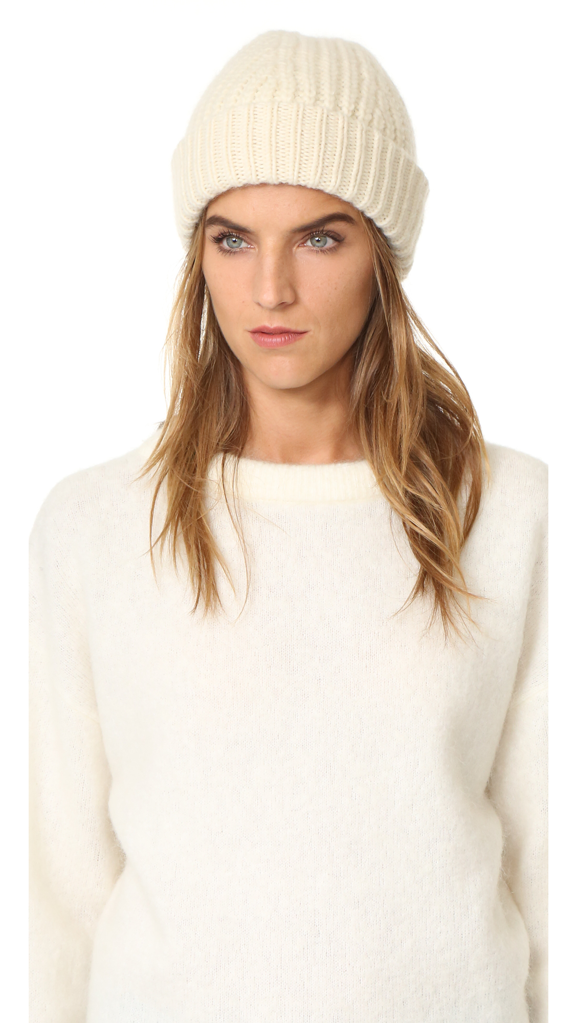 Acne Studios Chunky Hoy Hat - Off White at Shopbop