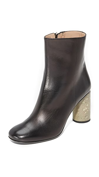 Acne Studios Althea Booties - Black