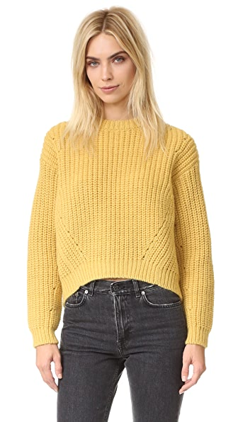 Acne Studios Hira Chunky Sweater - Mimosa Yellow at Shopbop