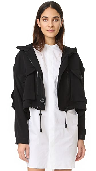 Acne Studios Loki Flight Jacket - Black
