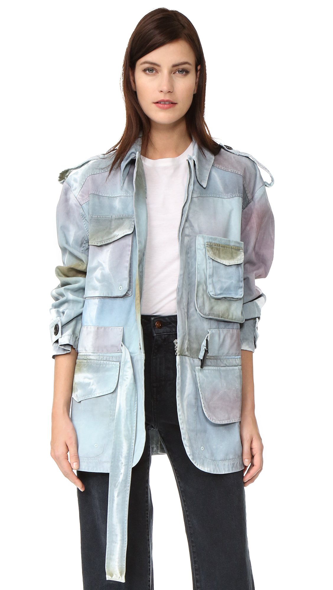 Acne Studios Liv P Jacket - Moss Green at Shopbop