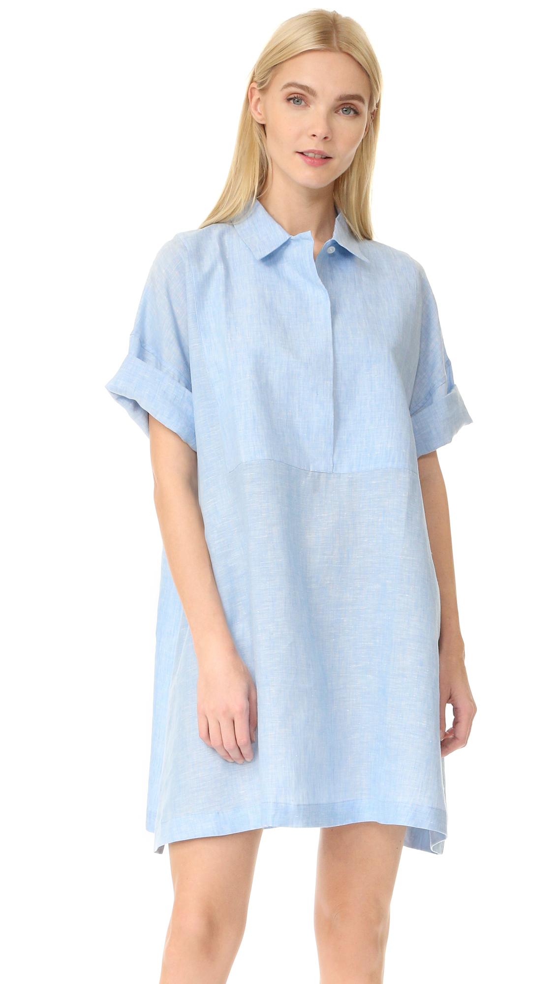 Acne Studios Sena Shirtdress - Light Blue at Shopbop