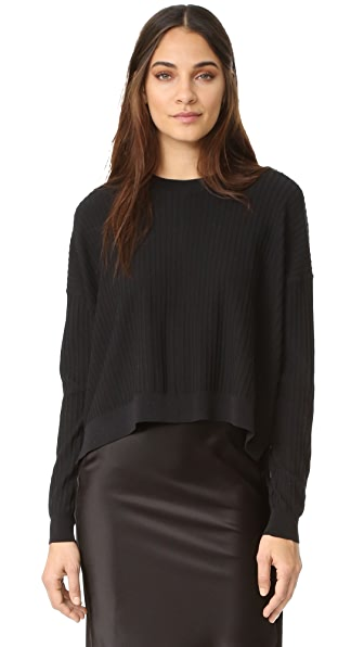 Acne Studios Issy Rib Sweater - Black