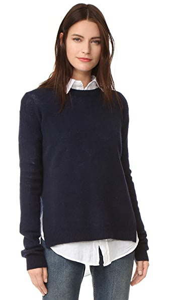 Acne Studios Deniz Wool Sweater In Navy