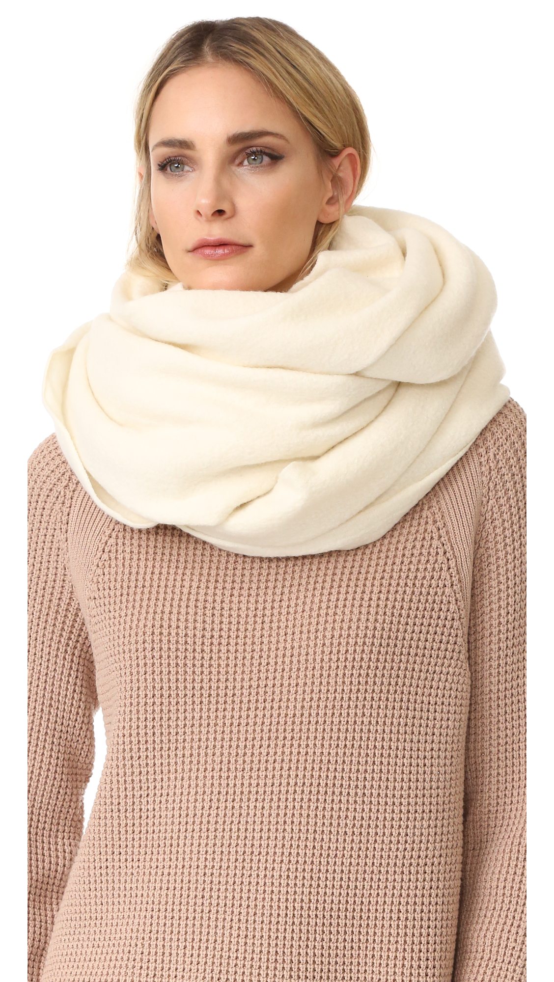 Acne Studios Milla Boiled Scarf - Off White at Shopbop